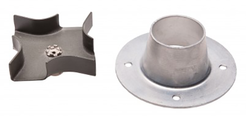 Metal Spinner Plate and Funnel Kit