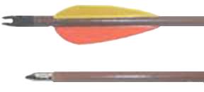 Poplar Target Arrows 5/16