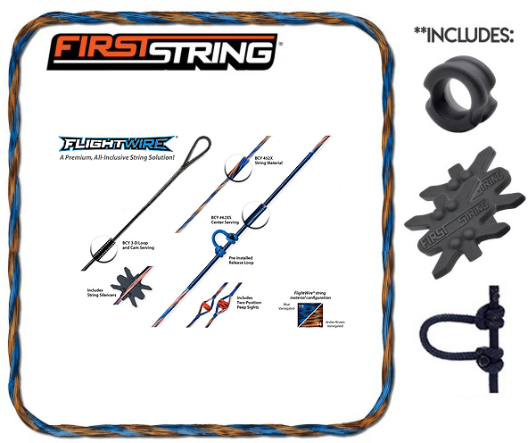 Flightwire String/Cable Diamond Black Ice