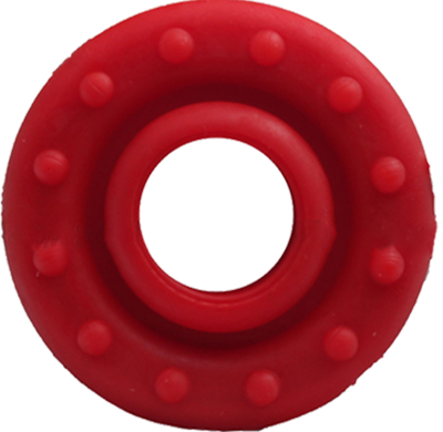 "Bowjax Silence-Saver Stabilizer Dampener 1"" Red"