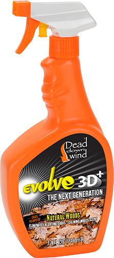 DDW Evolve 3D + Natural Woods Spray 32oz