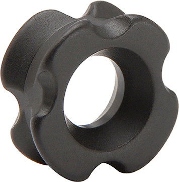 30-06 Solo Peep Black Aluminum 1/4 in.