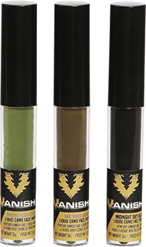Vanish Liquid Camo Face Paint 3 pk.