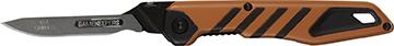 Gamekeeper Switch-Back Knife Orange and Black