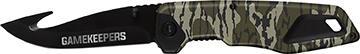 Gamekeeper Point Folding Knife Mossy Oak Bottomland