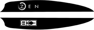 Bohning Air Vanes Black Flag 4 in. 100 pk.