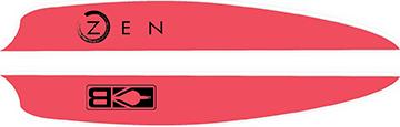 Bohning Air Vanes Hot Pink Flag 4 in. 100 pk.