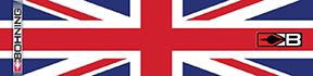 Bohning Arrow Wrap United Kingdom Flag 7in. Std 13 pk