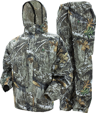Frogg Toggs All Sport Rain Suit Realtree Edge Large