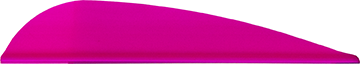 AAE Trad Vane Hot Pink 3 in. 50 pk