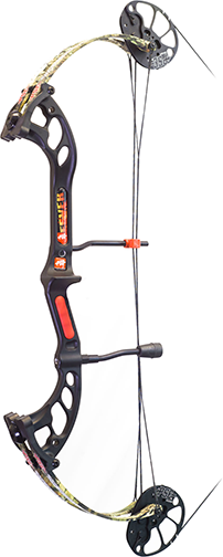 "18 Fever Bow Only RH 25"" 50# Mossy Oak Country"