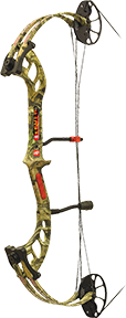 "16 Fever Mossy Oak Infinity Right Hand 25"" 50#"