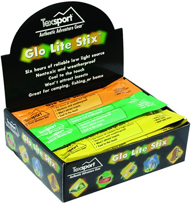 Texsport Glo Lite Stix * Assorted Colors *