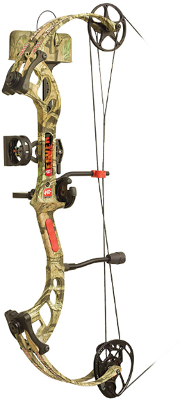 "18 Fever RTS Package RH 25"" 40# Mossy Oak Country"