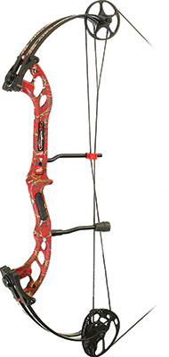 "17 Stinger X Right Hand 29"" 70# Red Skullworks Camo"
