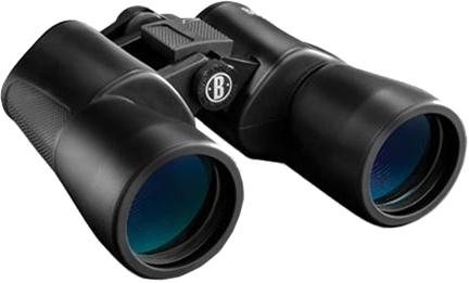 Bushnell 10x50 Powerview Zoom Binocular Black Roof Prism