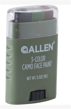 Allen 3-Color Camo Face Paint Stick