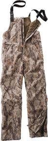 Fleece Windproof Bibs Natural Camo XL