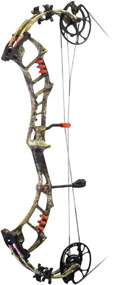 "18 Bow Madness Epix Bow Only RH 29"" 60# Mossy Oak Country"