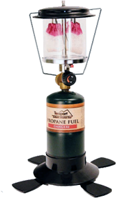 Double Mantle Insta-Light Propane Lantern