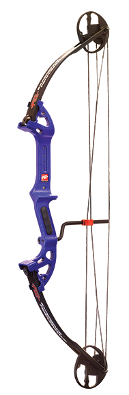 "18 Discovery Bowfishing Bow RH 30"" 40# DkD Blue"
