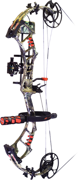 "Bow Madness Epix RTS Pkg RH 29"" 70# Mossy Oak Country"