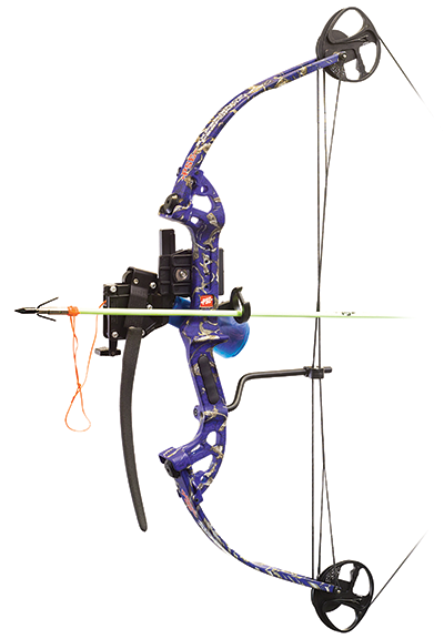"18 Discovery AMS Pro Bowfishing Pkg 30"" 40# DkD Blue"