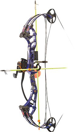 "18 Mudd Dawg Bow Fishing AMS Package 30"" 40#  Dkd Blue"