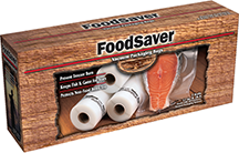 Food Saver Game Saver Bag Rolls 11in.x16ft. 2 pk