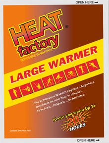 Hothands Large Hardwarmers