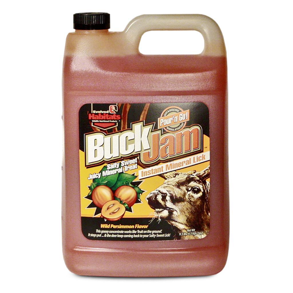 Elvolved Buck Jam Liquid Wild Persimmon 1 gal.