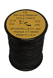 1-D Serving.019 Black 100 yd