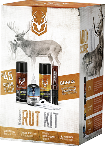 * Buck Bomb Ultimate Rut Kit