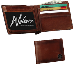 Wildlife Series Leather Billfold