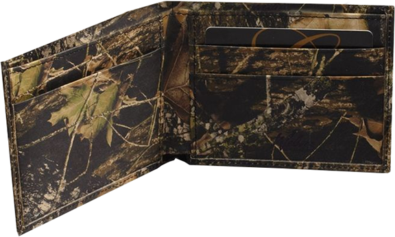 Leather Billfold Breakup Camo