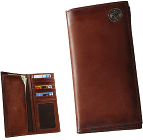 Wildlife Series Leather Pocket Sceretary Wallet