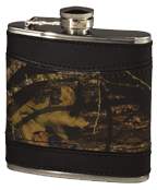 Leather Flask Breakup w/Black
