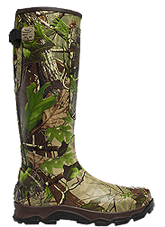 4X Burly Boot Size 8 Non Insulated Realtree APG