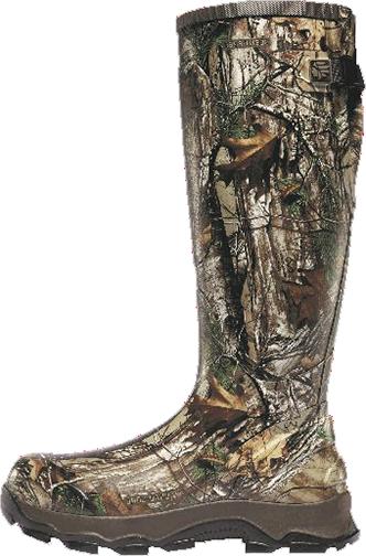 """4X Burly 18"""" Boot Realtree Xtra Size 10"""