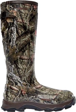 "4X Burly 18"" 800g Boot Mossy Oak Breakup Country Size 10"