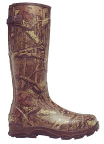 4X Burly Boot Realtree All Purpose 1200gr Size 8