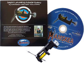 Sight Leveling Made Easy DVD 3rd Axis Level Combo Pack Black