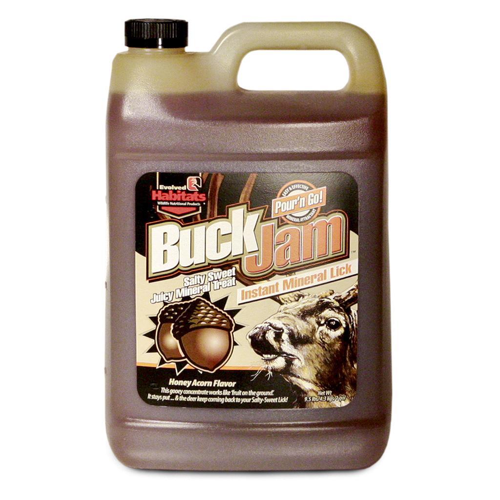 Elvolved Buck Jam Liquid Honey Acorn 1 gal.