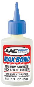 * AAE Max Bond Glue .7oz Bottle