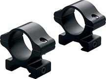 Leupold Rifleman Scope Rings High Matte Black