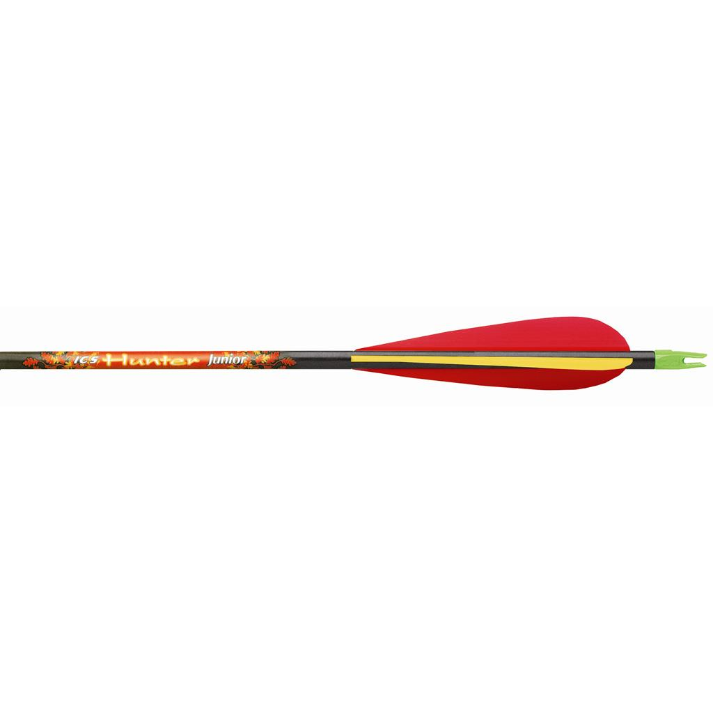 Beman ICS Hunter Junior Arrows 3in. Vanes 1 doz. Inserts Loose