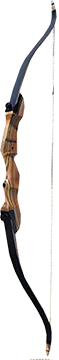"17 Monarch Takedown Bow Black Limbs Left Hand 62"" 50#"
