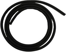 Micro Latex Tubing 3 Black