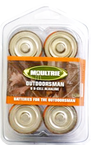 Moultrie Alkaline D Batteries