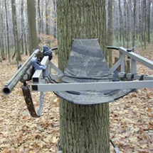 High Point Treestand Gun Holder Clam On